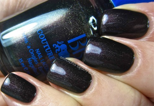 BB Couture Ashes swatch
