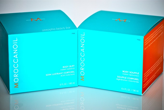 Moroccanoil Body Buff & Soufflé boxed