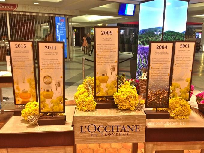 L'Occitane event timeline 2