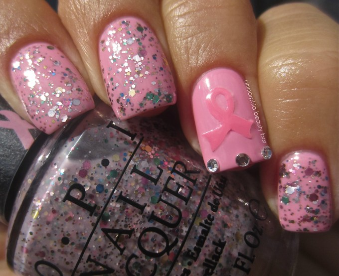 OPI Pink Of Hearts 2013 swatch glossy 2