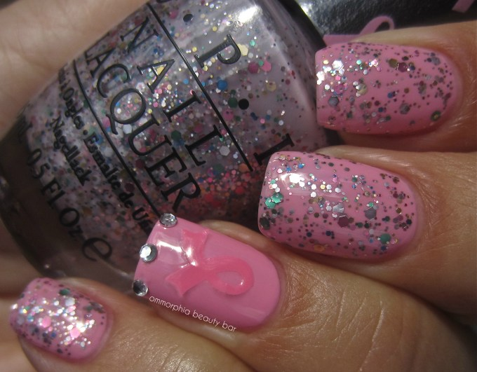 OPI Pink Of Hearts 2013 swatch glossy