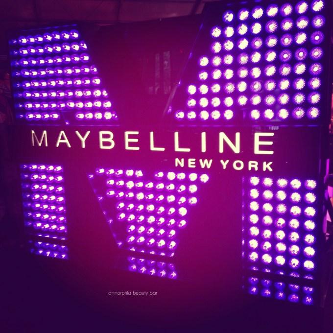 WMCFW Maybelline sign