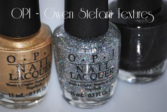 OPI Gwen Stefani Textures opener