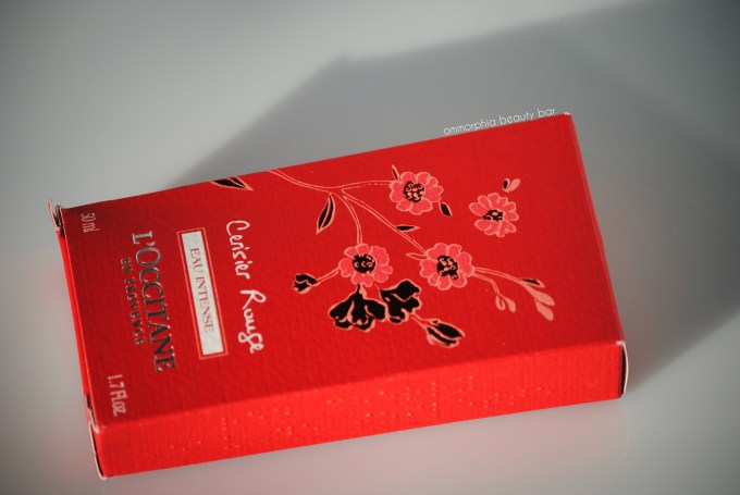 L'Occitane Cerisier Rouge box