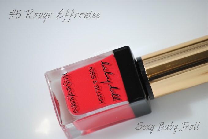 YSL Rouge Effrontee