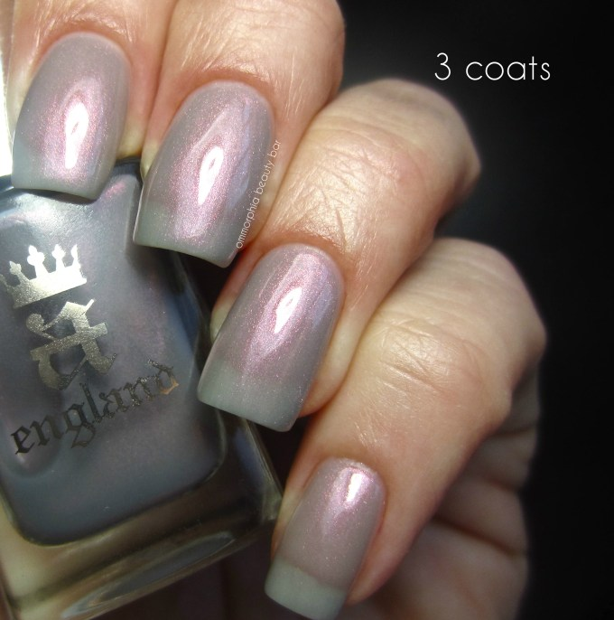 a-england Hurt No Living Thing 3 coats swatch