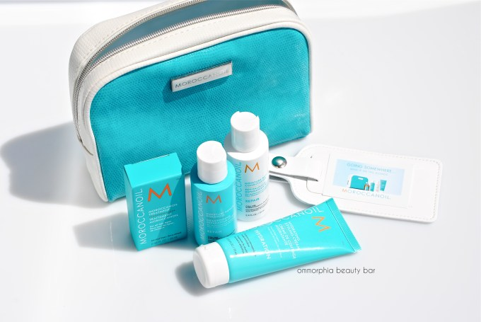 Moroccanoil Travel Kit & luggage tag