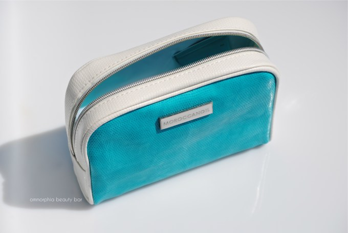 Moroccanoil Travel Kit open pouch