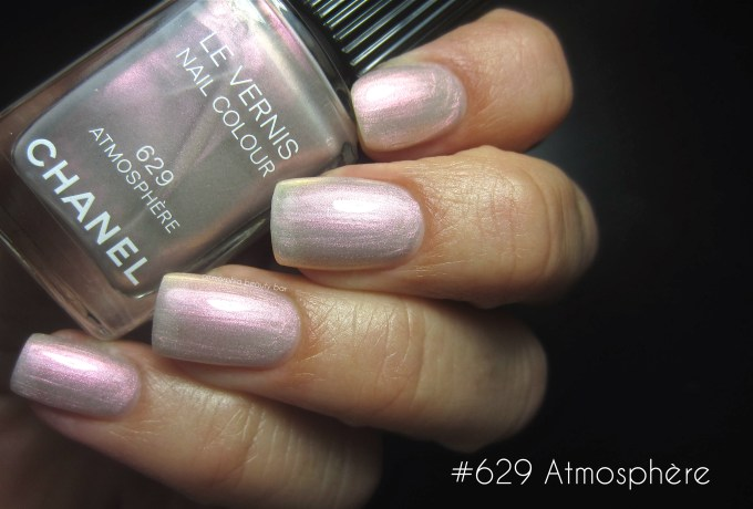 CHANEL #629 Atmosphere swatch