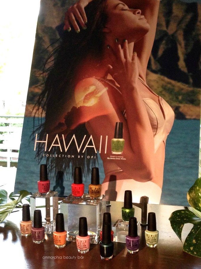 OPI Hawaii event collection 2