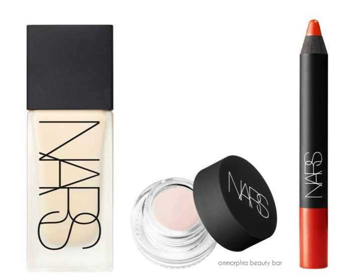 NARS for Taylor Schilling products