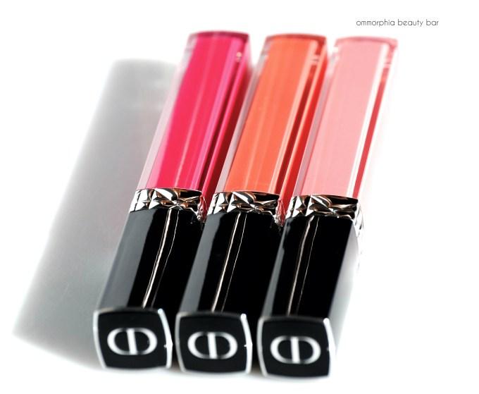 Dior Rouge Brillant trio 2