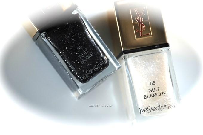 YSL Nuit Blanche & Nuit Noire