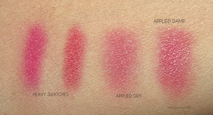 NARS Panic swatches