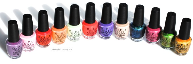 OPI Hawaii Collection 4