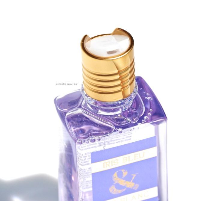 L'Occitane Iris Bleu & Iris Blanc Shower Gel dispenser