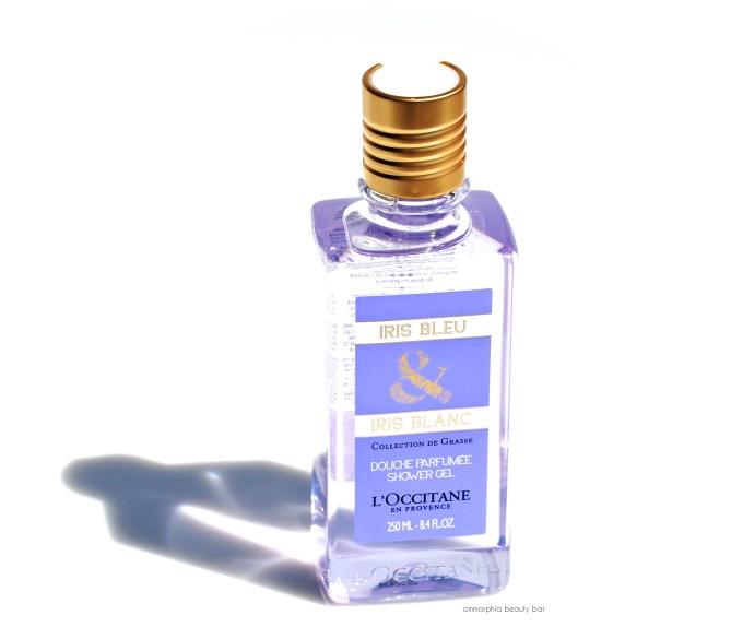 L'Occitane Iris Bleu & Iris Blanc Shower Gel