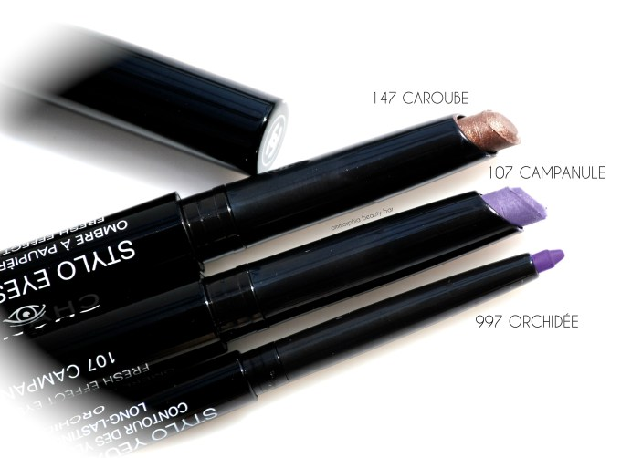 CHANEL Summer 2015 eye pencils macro