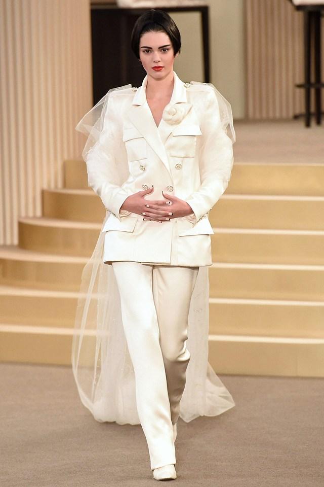 Chanel Kendall bride