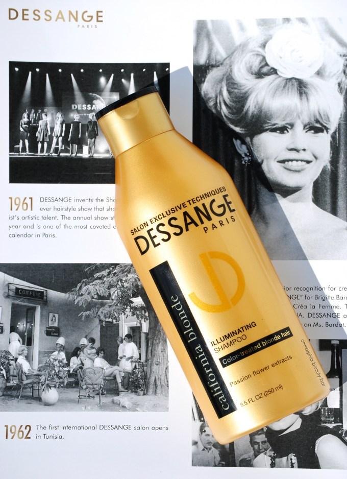 Dessange California Blonde shampoo