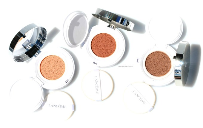 Lancome Miracle Cushion opener