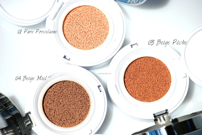 Lancome Miracle Cushion trio macro