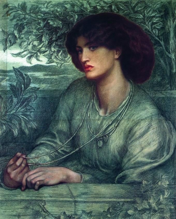 Rossetti's Jane Morris portrait 1868