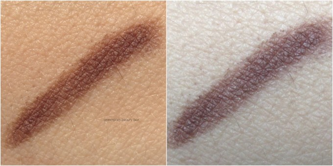 Dior 593 Brown Powder Eyebrow Pencil swatches