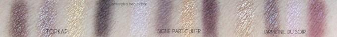 CHANEL Signe Particulier & comparison swatches 2