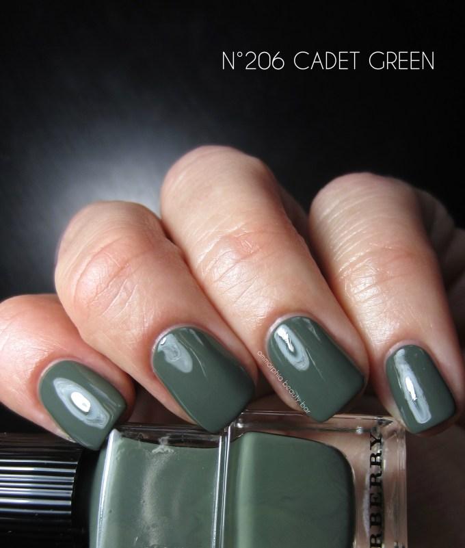 Burberry Cadet Green swatch