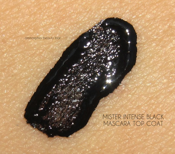 Givenchy Mister Intense Black Mascara Top Coat swatch