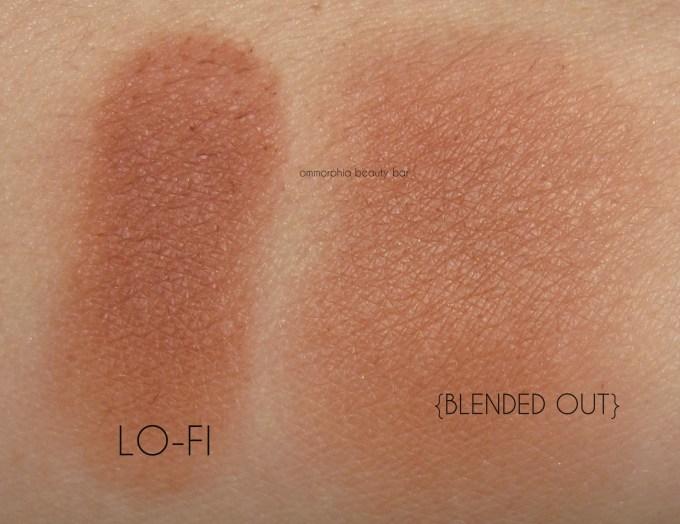 UD Gwen Stefani Blush Palette Lo-Fi swatches