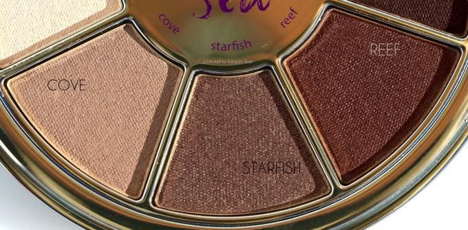 Tarte Rainforest of the Sea Eyeshadow Palette trio 2
