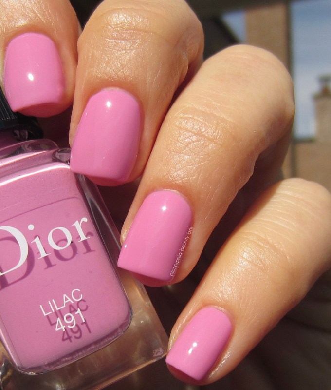 Dior Lilac swatch 1