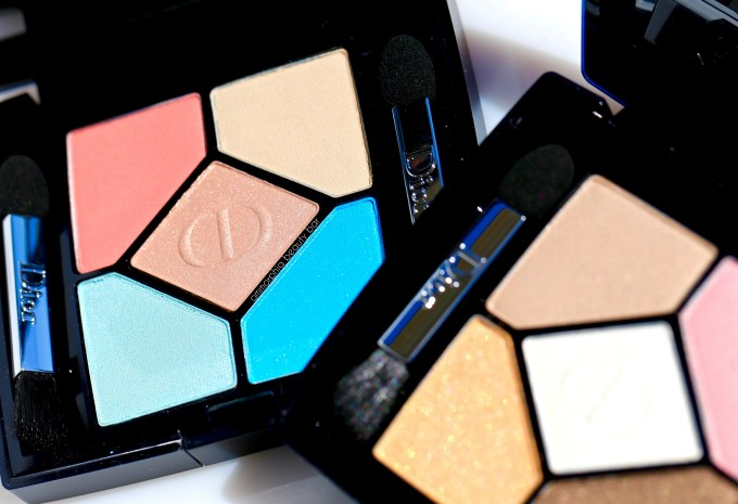 Dior Summer 2016 Eye Palettes closer