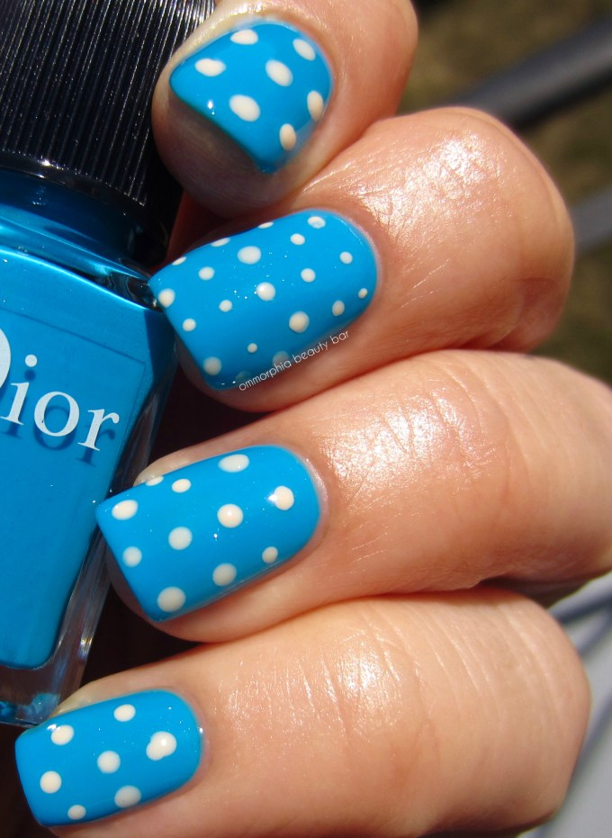 Dior Summer 2016 Pastilles 795 with dots swatch