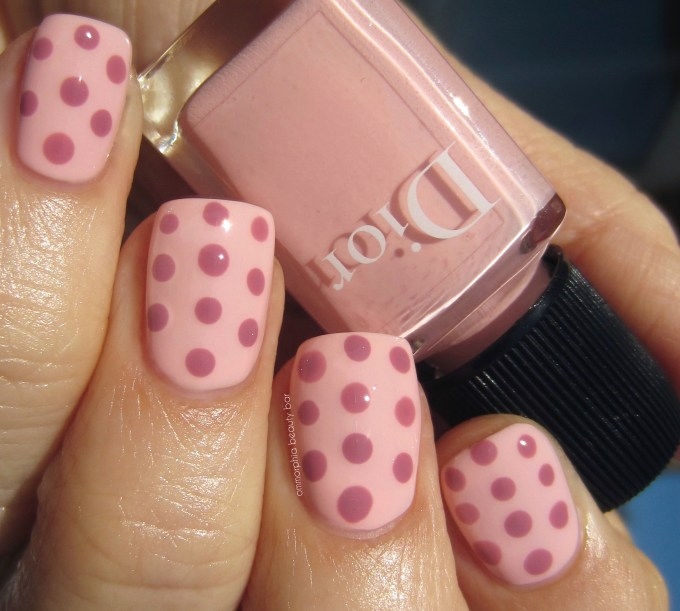 Dior Summer 2016 Plumetis 262 with dots swatch