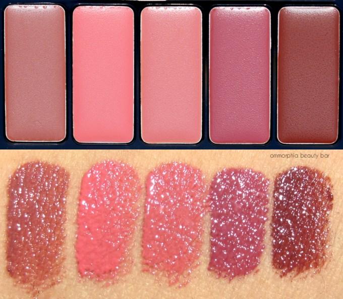 L'Oréal La Palette Lip Nude macro
