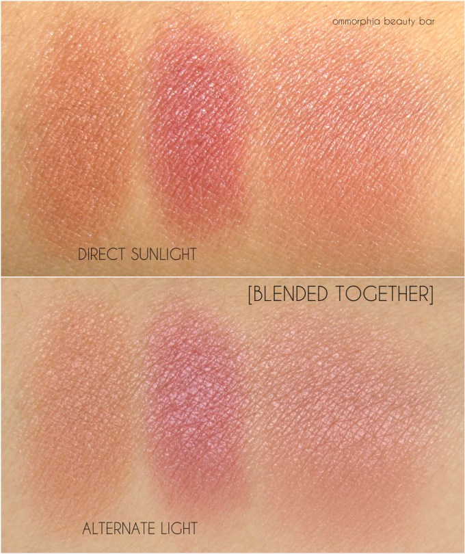 NARS Sexual Content Blush swatches