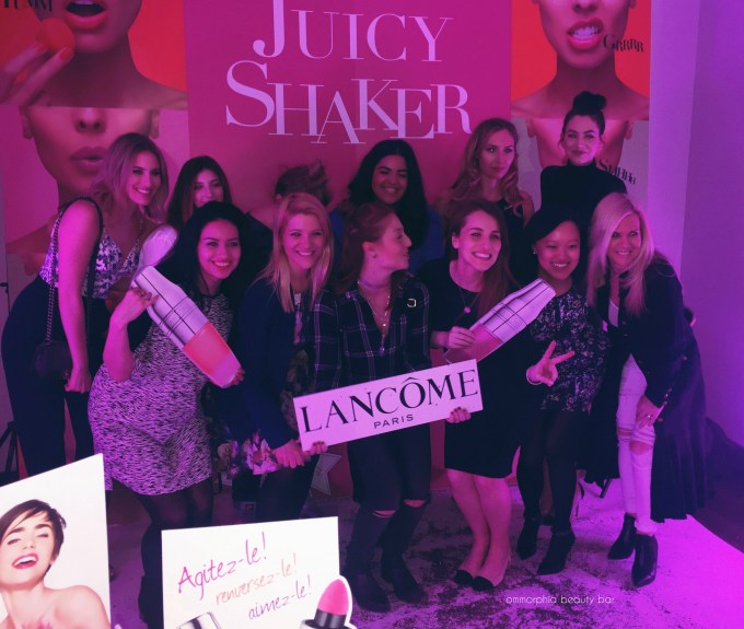 Lancome Juicy Shaker event 10