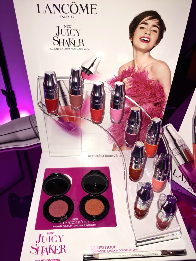 Lancome Juicy Shaker event 7