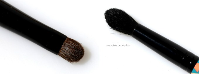 MAC Vibe Tribe 226 228 brush heads macro