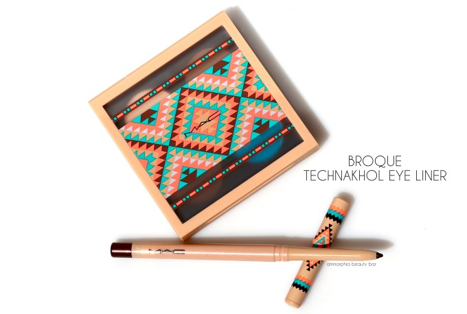 MAC Vibe Tribe Broque Technakhol Eye Liner