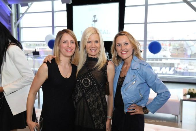 Guerlain event with Josiane and Sandrine