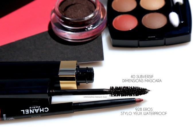 CHANEL Le Rouge eyeliner & mascara
