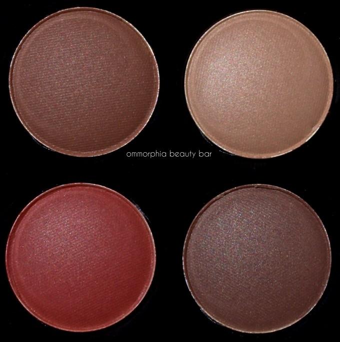CHANEL Le Rouge eyeshadow palette macro