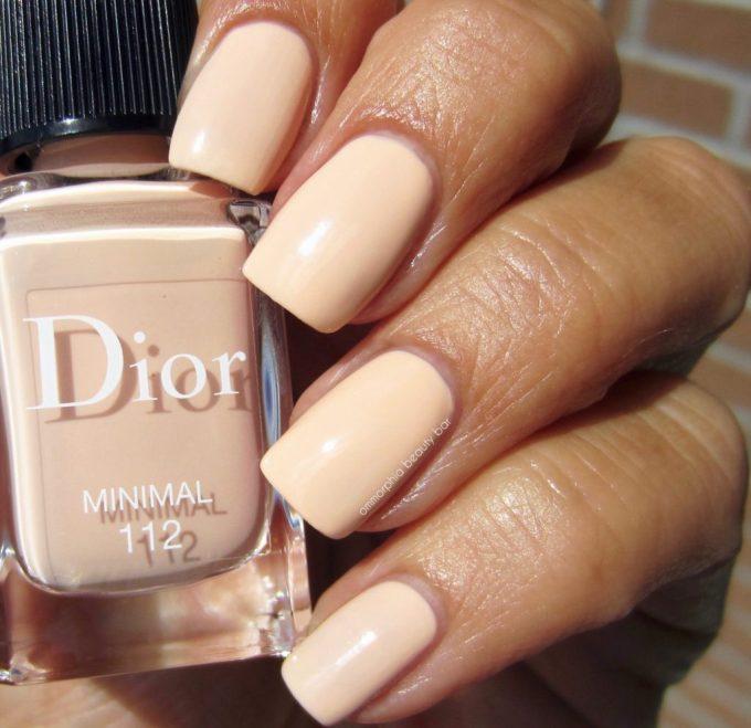Dior Minimal polish swatch