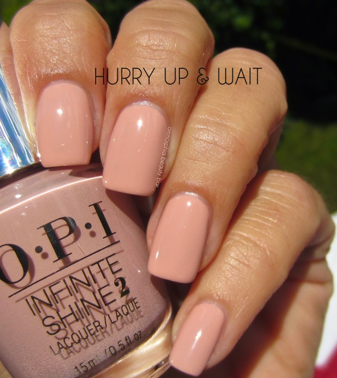 OPI Hurry Up & Wait swatch