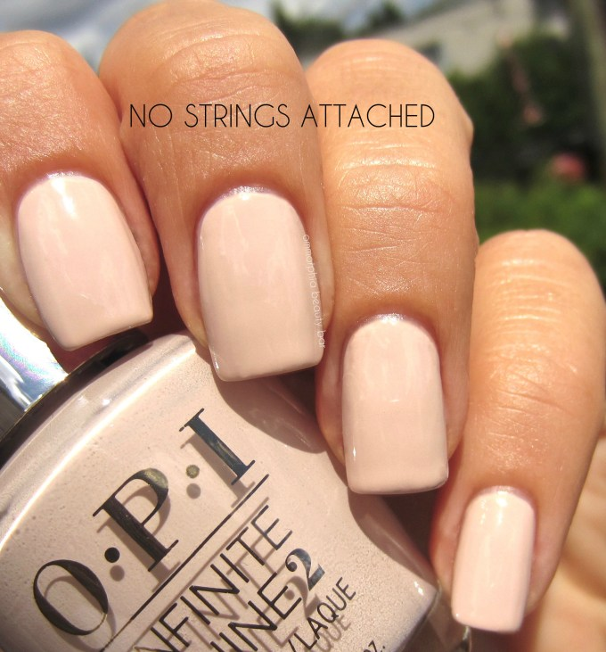 OPI No Strings Attached swatch