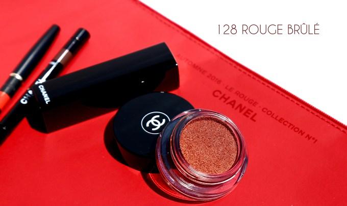 CHANEL Le Rouge extras 128 Rouge Brûlé